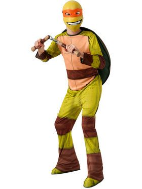 Boy's Teenage Mutant Ninja Turtles Michelangelo Costume