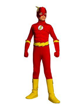 Kid's Classic Flash Costume