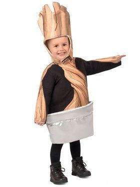 Potted Groot Toddler Child Costume