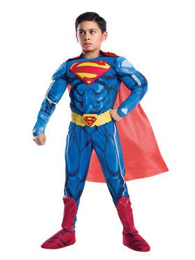 Boys Ultimate Superman Armored Costume