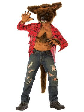Werewolf Boys Costume