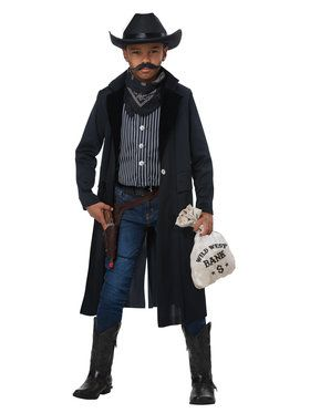 Wild West Sheriff/Outlaw Costume For Boys