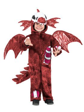 Zombie Dragon Costume for Kids