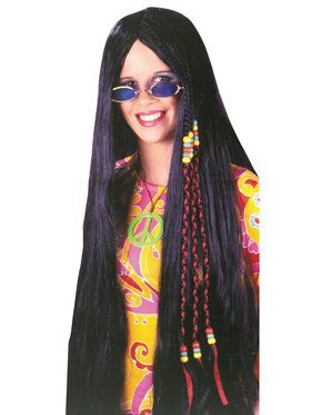Braided Hippie Wig Adult