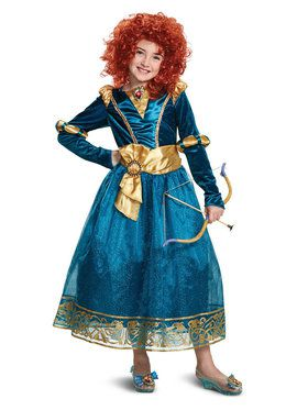 Brave's Deluxe Merida Child Costume