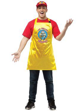 Breaking Bad Apron and Visor Adult Costume