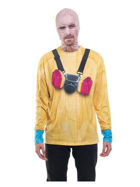 Breaking Bad Walter White Mask and Tee Adult Costume