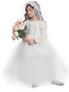 Bridal Princess Girl's Costume