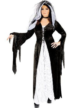 Bride of Darkness Adult Plus Costume