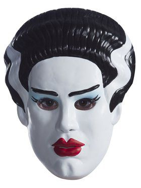 Vacuform Adult Bride Of Frankenstein Mask