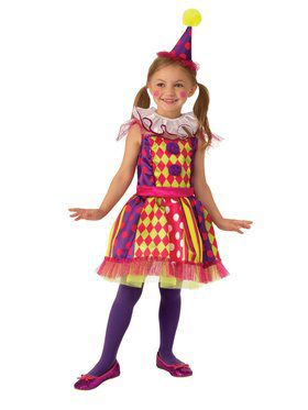 Clown Child Costume for Kids