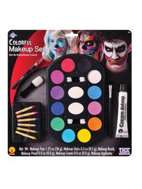 Bright Colors Makeup Kit
