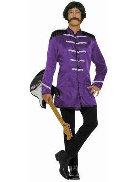 British Explosion Adult Purple Costume