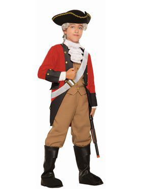 British Red Coat Child Costume