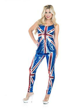 Women's British Sequin Top and Pants
