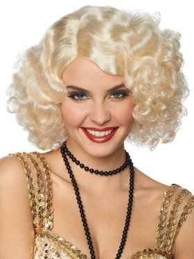 Broadway Flapper Wig for Women