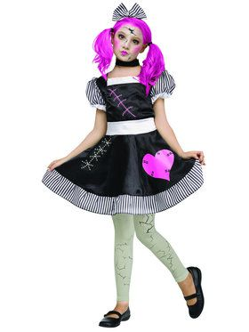 Broken Doll Girl's Costume