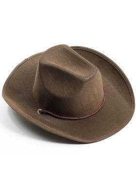 Brown Cowboy Hat For Adults