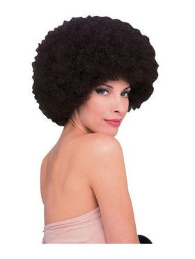 Brown Afro Wig Adult
