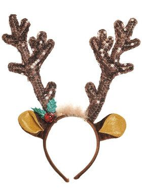 Brown Antler Headband