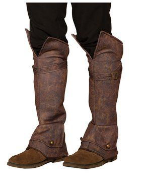 Brown Accessory Boot Tops