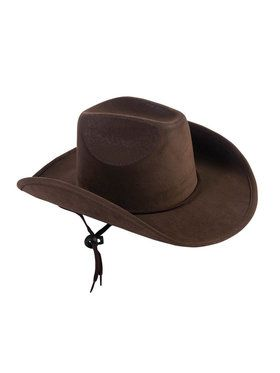Brown Suede Children's Cowboy Hat