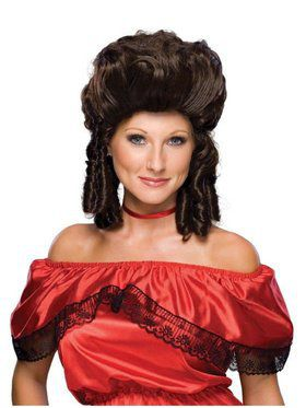 Colonial Brown Wig for Women