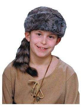 Brown Coonskin Cap Child