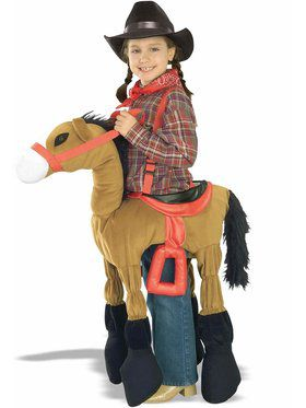 Brown Horsey Child Costume