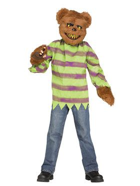 Brown Killer Bear Boy's Costume