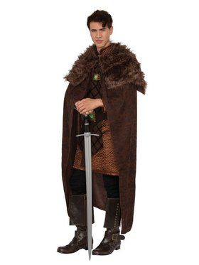 King Men's Brown Cape