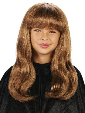 Brown Wizard Child Wig