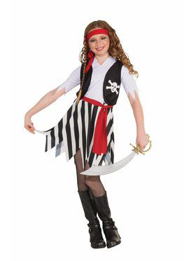 Buccaneer Girl's Costume