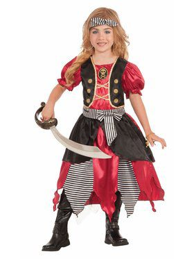 Buccaneer Princess Girl's Costume