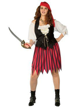 Buccaneer Wench Adult Plus Costume