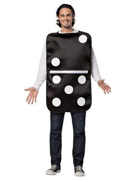 Adult Build Your Own Domino Costume
