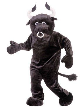 Bull Deluxe Mascot Costume For Adults