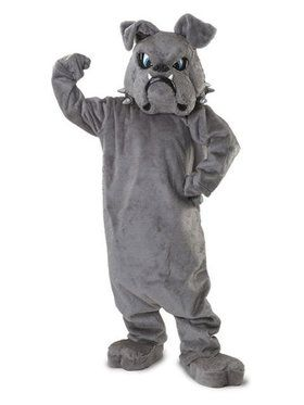 Bull Dog Mascot Adult's Mascot Costume