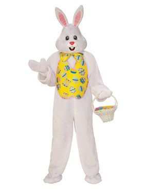 Bunny Mascot Costume for Adults
