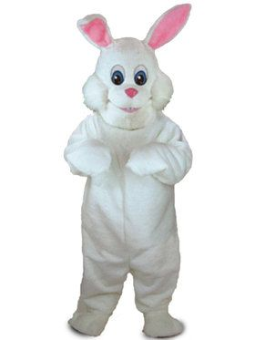 Bunny Rabbit Mascot Adult's Mascot Costume