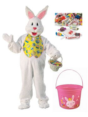 Bunny with Bucket & Candy - Plus