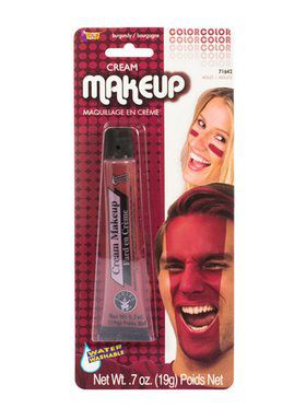 Burgundy Make Up Tube