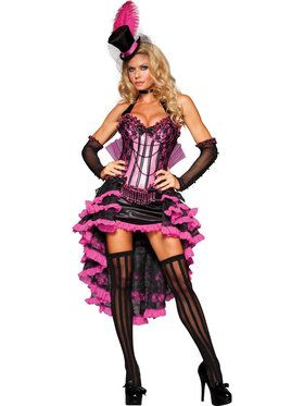 Burlesque Beauty Elite Costume