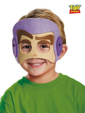 Buzz Lightyear Felt Mask for Boys