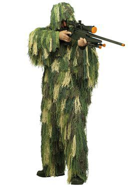 Camouflage Adult Ghillie Suite