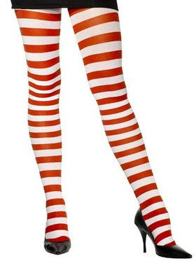 Candy Cane Tights For Adults