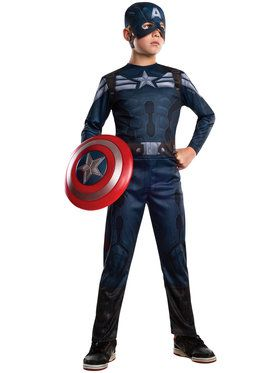 Captain America 2 Stealth Boy's Costume