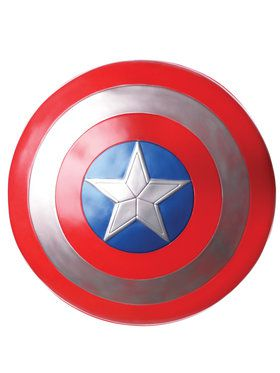 "Adult Captain America 24"" Shield - Captain America: Civil War"