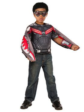 Captain America: Civil War Falcon Deluxe Boy's Costume