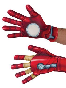 Captain America Civil War Iron Man Adult Gloves